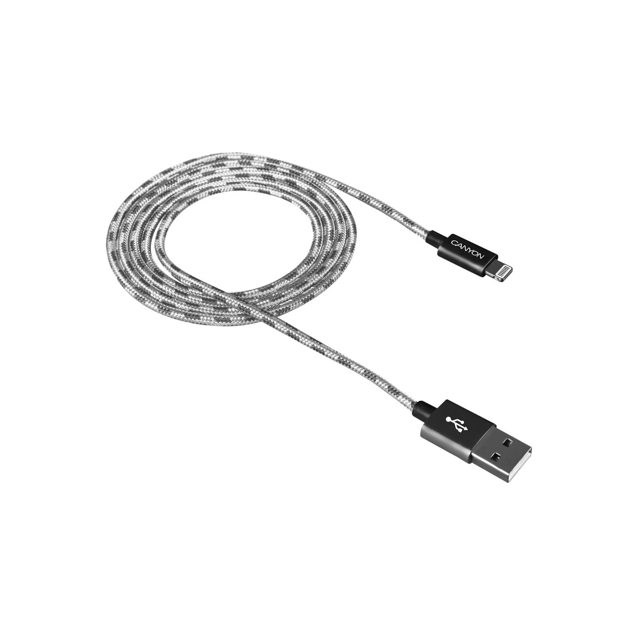 Braided 8-pin Lightning - USB cable for iPhone 5/6/7 (CNE-CFI3DG ...