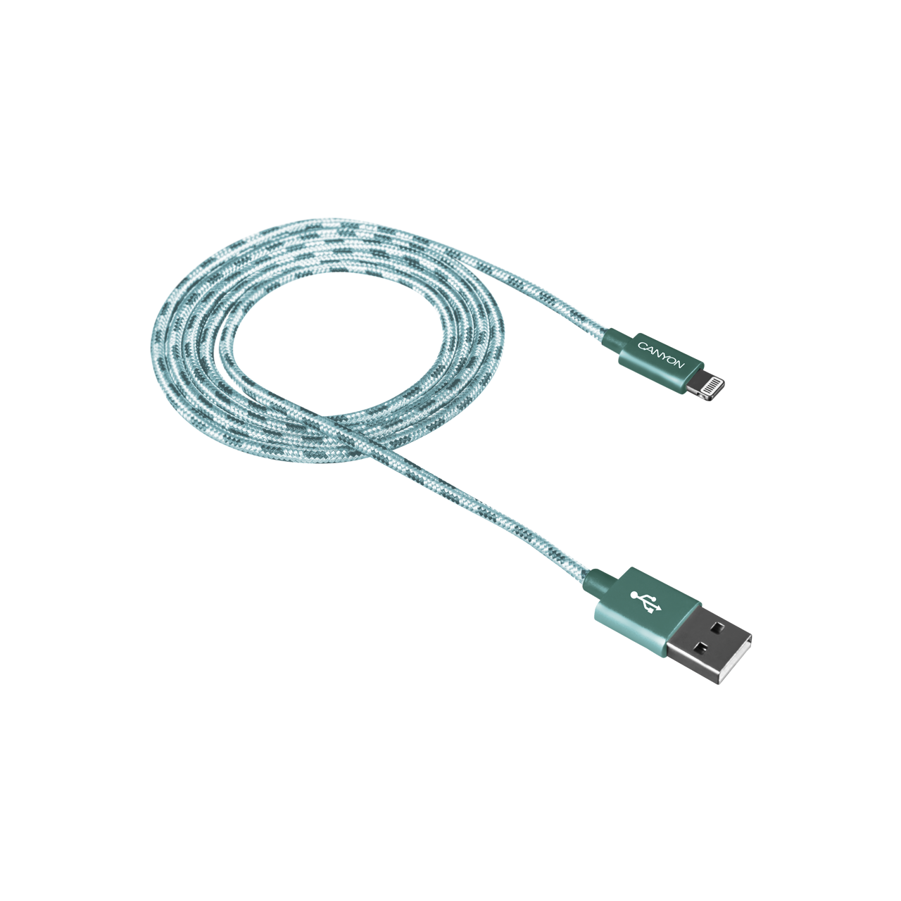 Braided 8-pin Lightning - USB cable for iPhone 5/6/7 (CNE-CFI3G ...