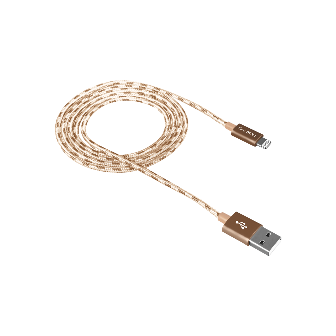 Braided 8-pin Lightning - USB cable for iPhone 5/6/7 (CNE-CFI3GO ...