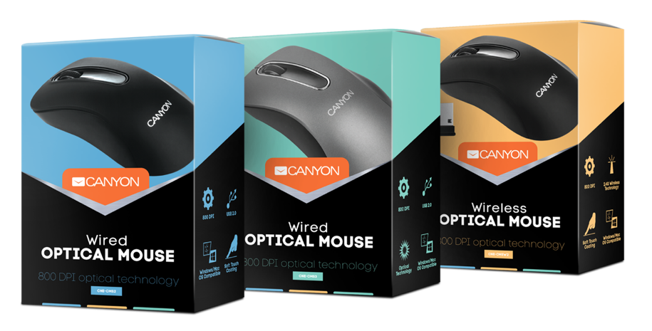 Canyon Accessories New Package Mice