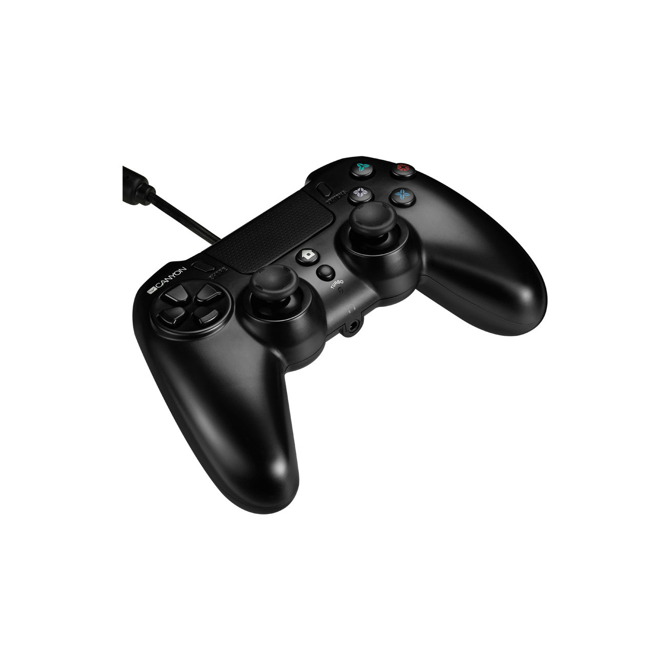 Wired Gamepad With Touchpad For PS4 (CND-GP5) - Canyon