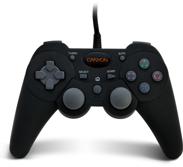 USB gamepad for PC, PS2, PS3 (CNG-GP04N) - Canyon
